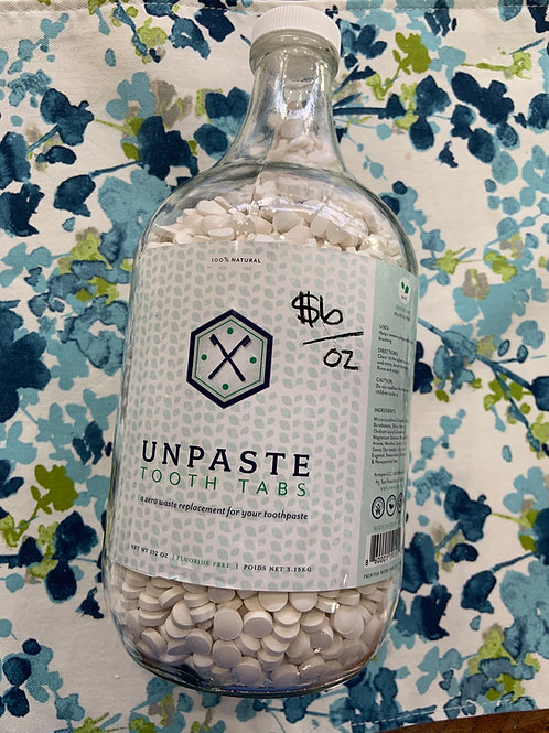 Unpaste Tablets