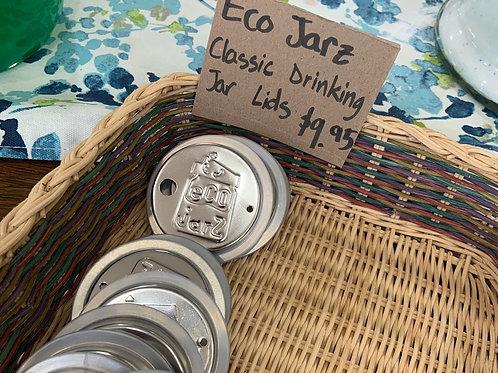 Reusable Ecojarz Classic Drinking Jar Lid