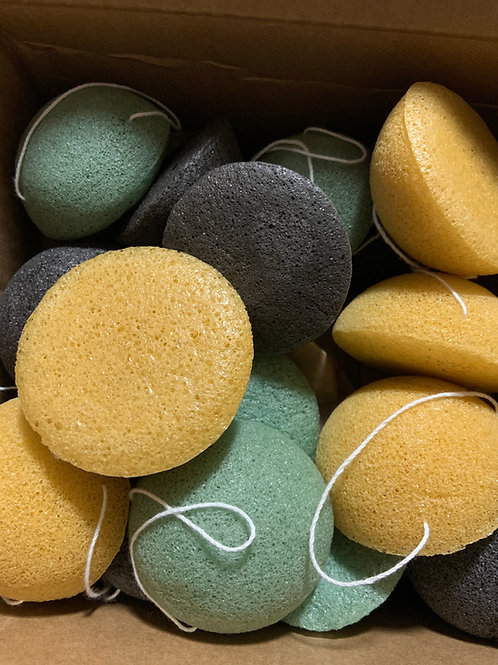 Konjac Compostable Facial Sponge