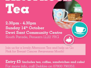 Afternoon Tea in Aid of a Wonderful Cause