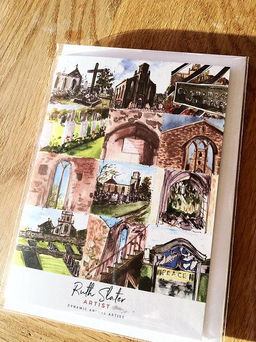 Cnoc-An-Raer Church Card