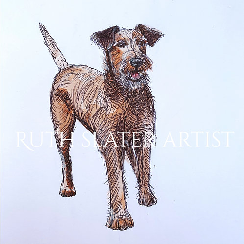 Irish Terrier Original (Standing)