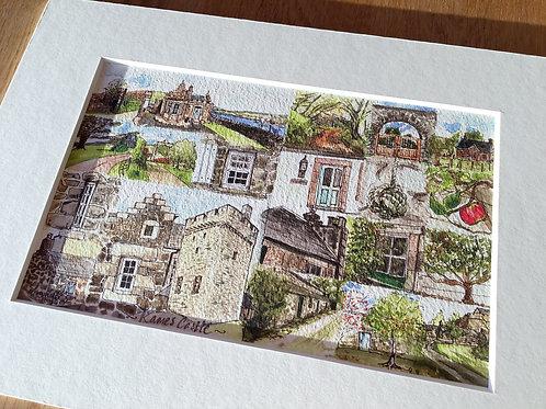 Kames Castle Print