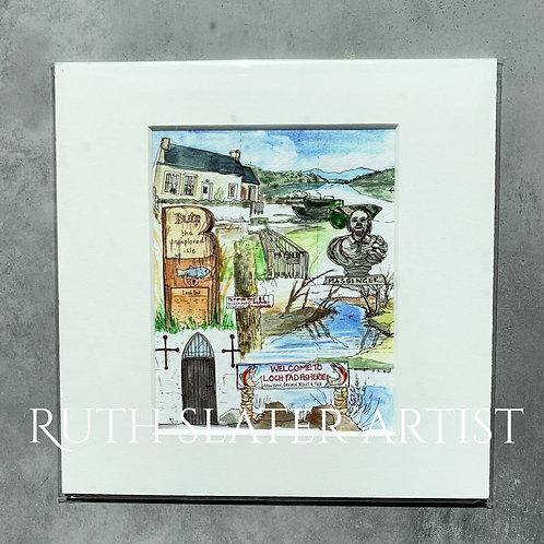Loch Fad Print