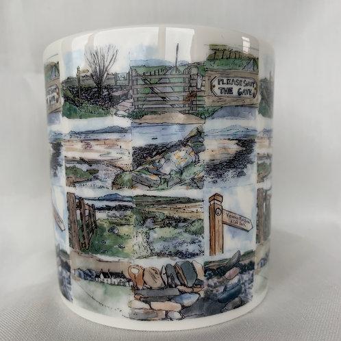 Scalpsie Beach Mug