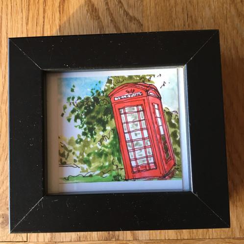Mini Frame Ascog Phone Box
