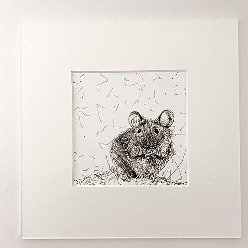 Cute Mouse Print