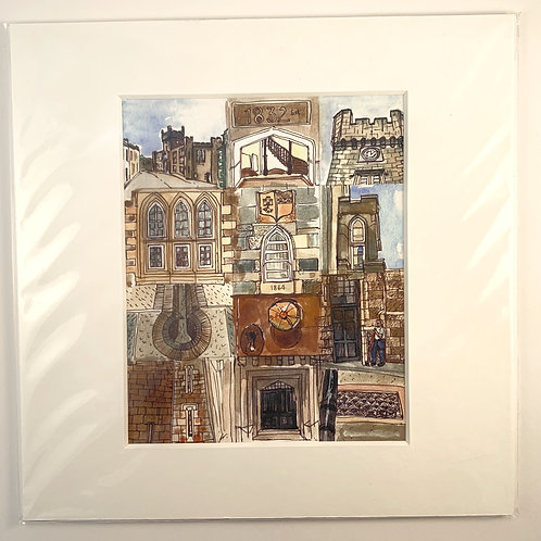 Rothesay Court House Print