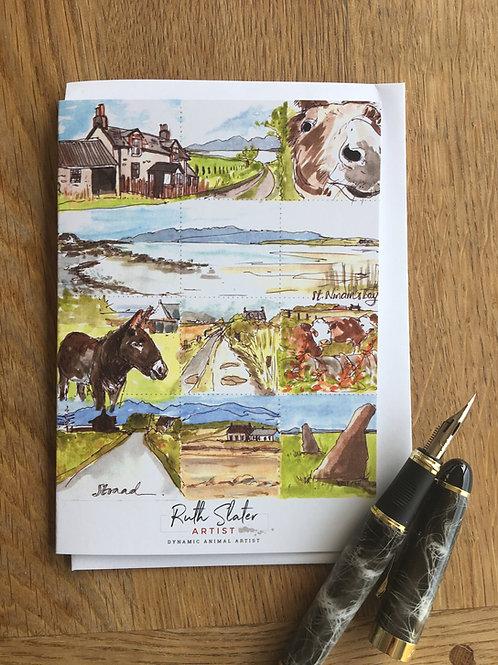 Straad and St. Ninian's Bay A6 Card