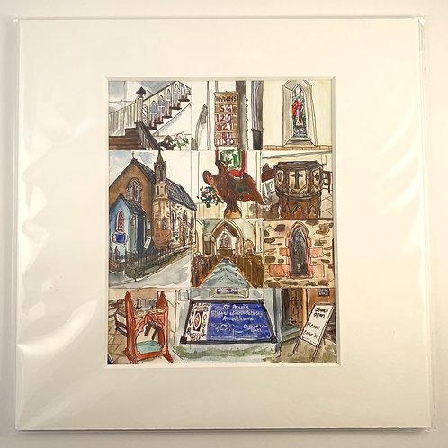 St. Paul's Church Print
