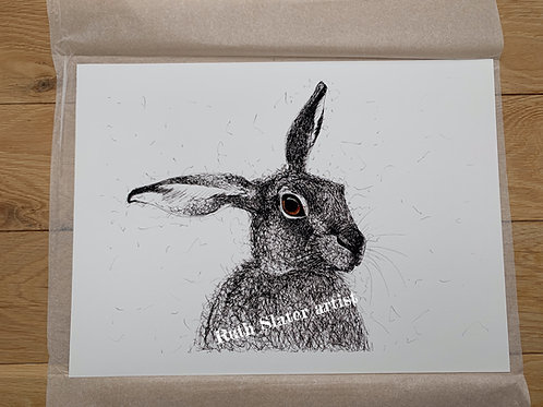A3 Hare Print (unmounted)