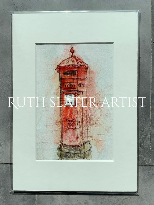 Rothesay Postbox Print