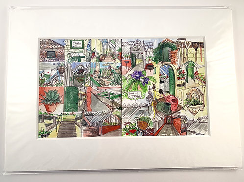 Ardencraig Gardens Print