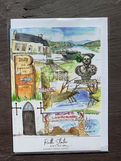 Loch Fad Card