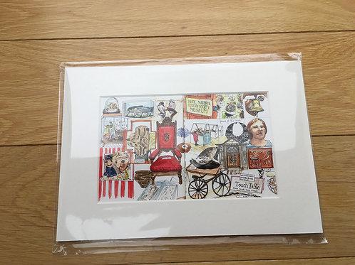 Bute Museum Print