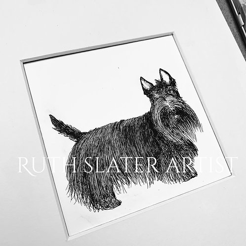 Scottish Terrier (Standing) Original