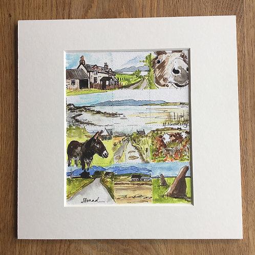 Straad and St. Ninian's Bay Print