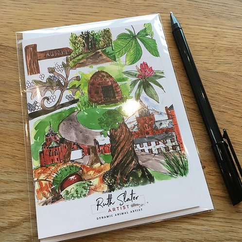 Mount Stuart Gardens Card