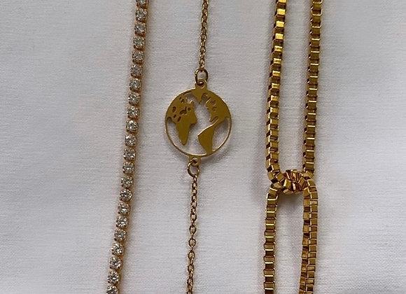 Globe Trotter Bracelet