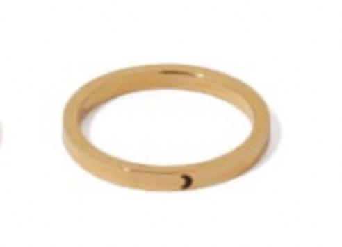 Moon Band Ring