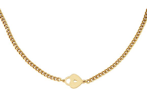 Lotty Love Lock Necklace