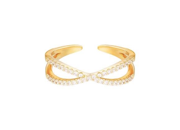 Hero Ring Gold/Silver