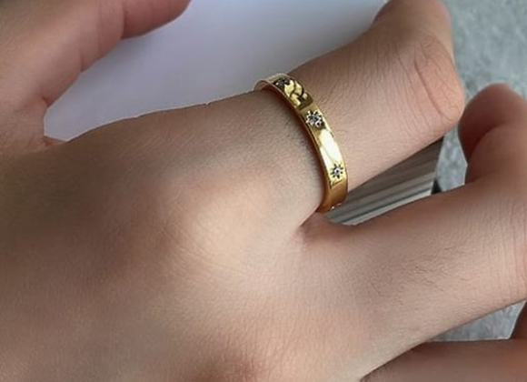 Adjustable Glow Up Band Ring