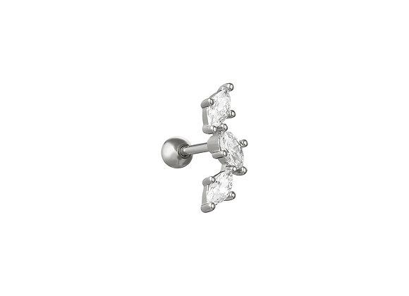 Single Cici Stud Earring