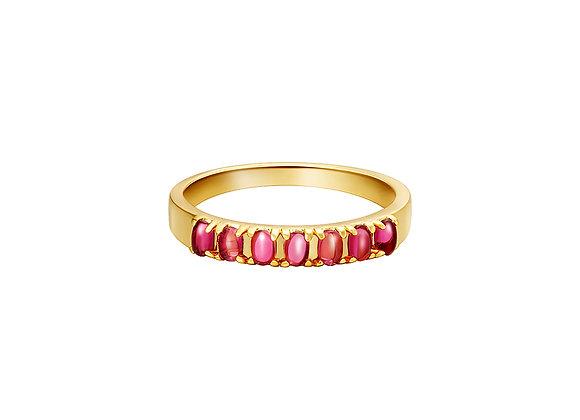 Ruby Ruler Ring