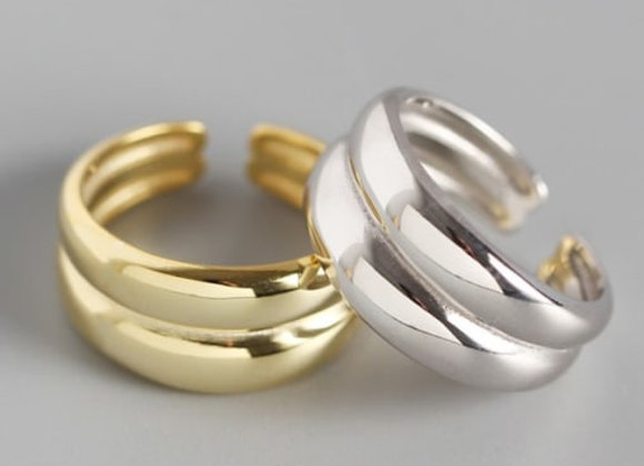 The Adjustable Stack  Ring