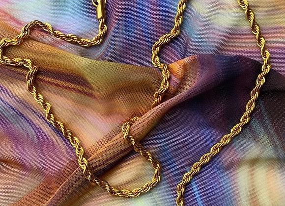 Twisty Chain Necklace