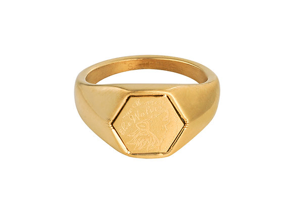 The Wolves Vintage Ring