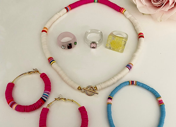 Summer Vibes Bundle - Pink, Red,Yellow