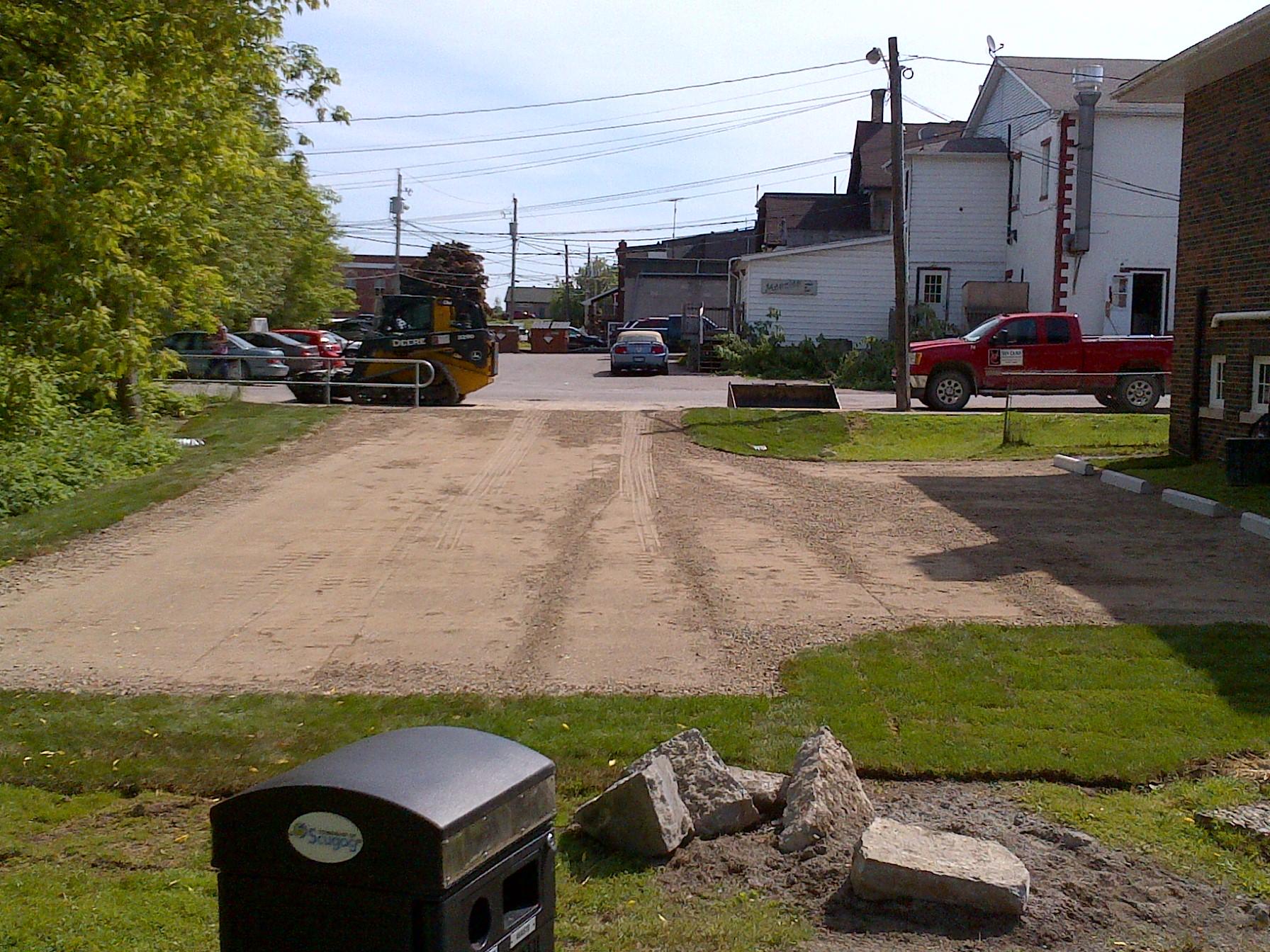 Gravel Parking Lot