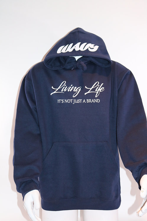 Blue Living Life Wavy Track Suit