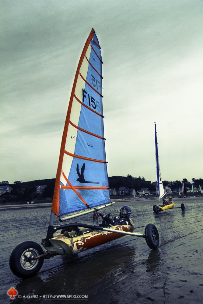 Coupe de France de char à voile - Erquy 2016
