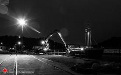 Port légué nuit
