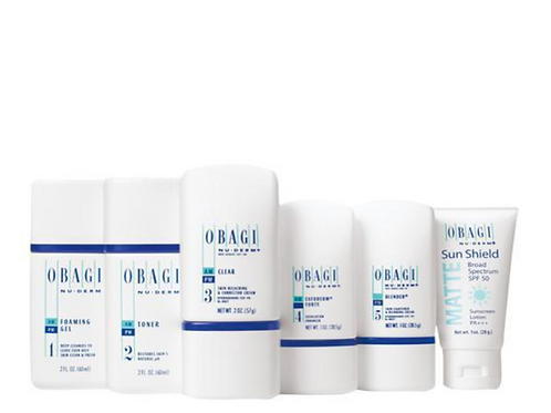 Obagi Nu Derm System: 3 month travel kit, normal to dry