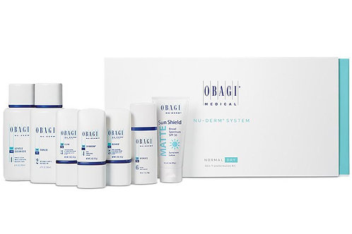 Obagi Nu Derm System: 6 month kit, normal to oily