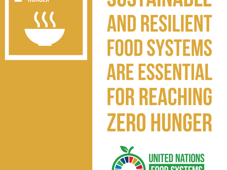 I am a #FoodSystemsHero and I support #SDG2!