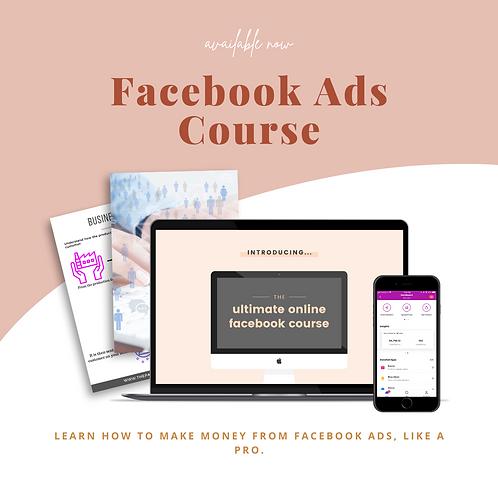Facebook Ads Beginner's Course