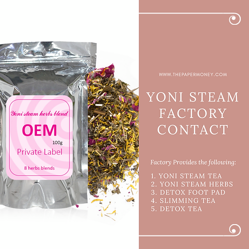 Yoni Steam Factory Contact