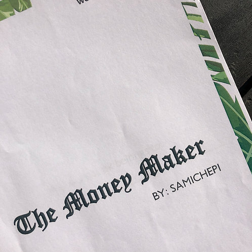 The Money Maker Workbook