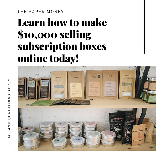 How To Sell Subscription Boxes