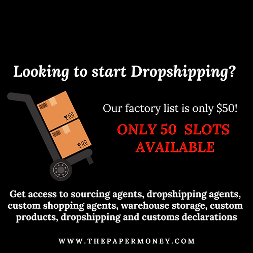 Drop-Shipping Contact List