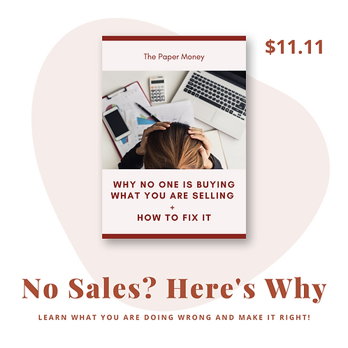 Why No One Is Buying What You Are Selling + How To Fix It