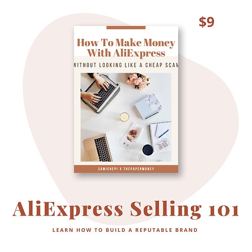 How To Make Money With AliExpress Without Looking Like A Cheap Scam