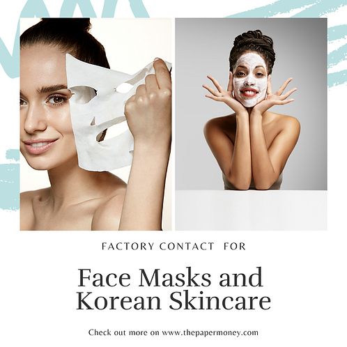 Face Mask & Korean Skincare