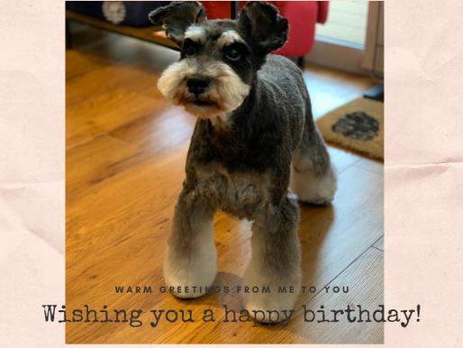 Happy Birthday Turf!!!