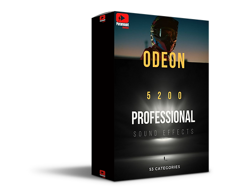 ODEON Cinematic Sound Effects Pack